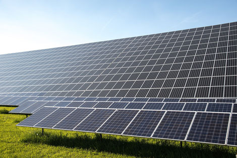 Photovoltaikanlage auf einer Freifläche